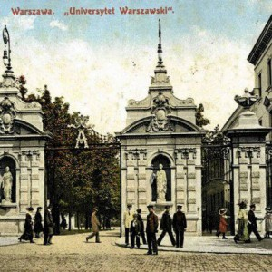 The University Gate, postcard, The Ephemera Departament, UWL