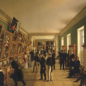 W. Kasprzycki, The Fine Arts Exhibition in Warsaw in 1828, an oil painting, The National Museum in Warsaw