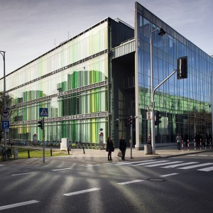 The new building of the linguistic faculties in Powiśle district