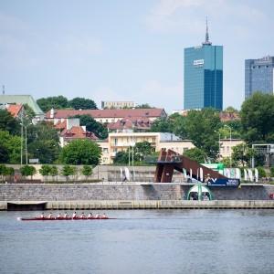 Vistula River in Warsaw, fot. M. Szypliński