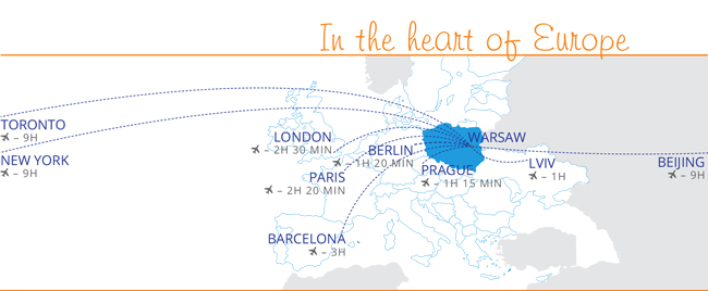 In the heart of Europe