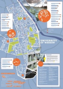 "City map ""The University compass"", page 1"