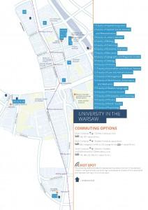 Printable city map