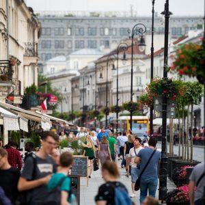 Krakowskie Przedmieście Street.