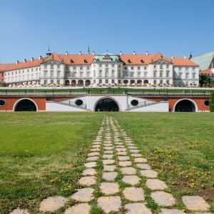 The Royal Castle in Warsaw.