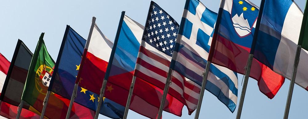 flagi, panorama