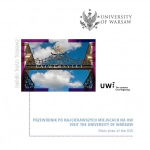 Main sites of the UW - guidebook, cover