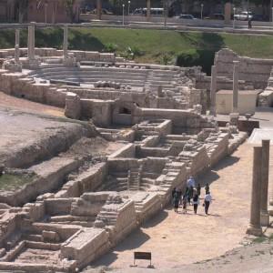 An ancient theatre. Photo: W. Jerke/PCMA UW.
