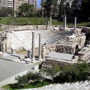 An ancient theatre. Photo: G. Majcherek/PCMA UW.