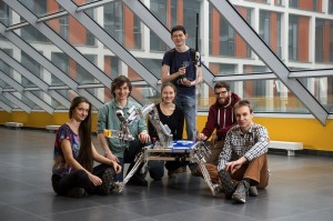 The University of Warsaw Rover Team.