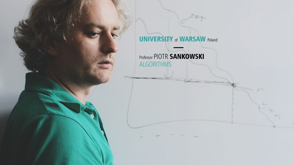 Movie about ERC grant for Professor P.Sankowski (open in a new window)