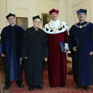 Dr. Sergei Kovalyov received an honorary doctorate degree of the University of Warsaw. Credit: M. Kluczek