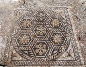 New Mosaic Discovered in Alexandria_photo G.Majcherek, PCMA UW