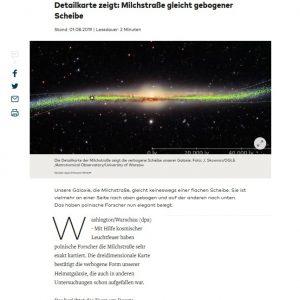 Germany, Die Welt, https://www.welt.de/newsticker/dpa_nt/infoline_nt/wissenschaft_nt/article197829031/Detailkarte-zeigt-Milchstrasse-gleicht-gebogener-Scheibe.html