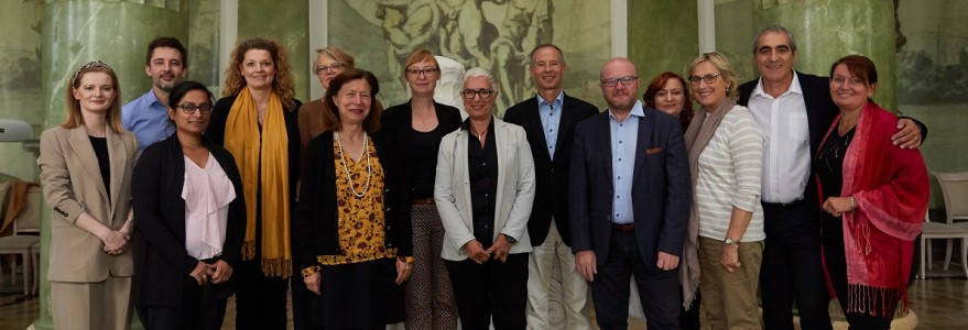The 4EU+ Steering Committee meeting at the University of Warsaw. Credit: K. Szczęsny