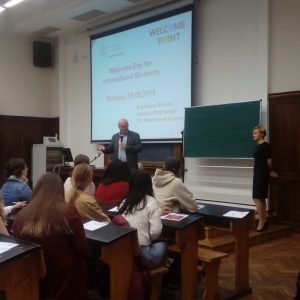Welcome Day for long-term students.