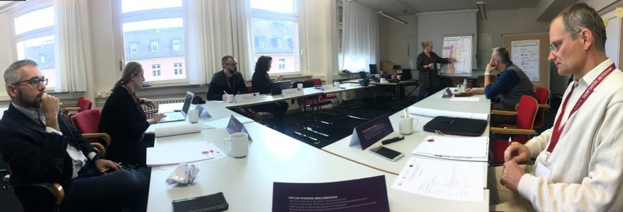 Meeting of the partnership Academic Partnership for Innovation in Teaching and Learning (API) at the University of Heidelberg