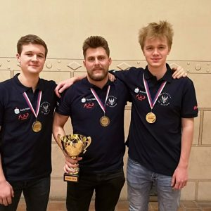 Winners of the ACM International Collegiate Programming Contest (Central Europe Regional Contest)