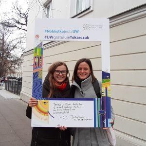 Katarzyna Bieńko, Press Office, and Ewa Szkop,