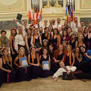 "Winners of the ""Singing World"". Credit: Teresa Gręziak"