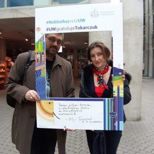 Prof. Kamil O. Kuraszkiewicz and Dr. Marta Widy-Behiesse, Faculty of Oriental Studies