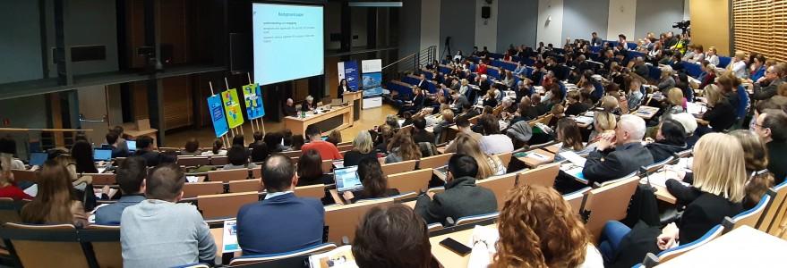 4EU+ information meeting at the University of Warsaw.