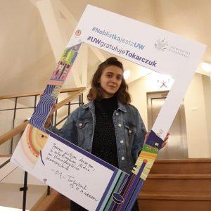 Natalia Zdrojewska, student of Institute of Polish Culture