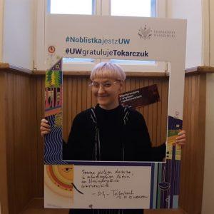 Magdalena Morawik, student of Institute of Polish Culture