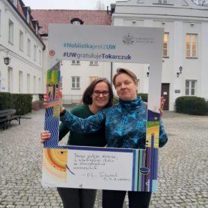 Justyna Kulawiak, Joanna Pachulska, Student Union