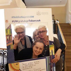 Sylwia Salamon, Anna Sadecka, Grażyna Andrejuk, International Relations Office