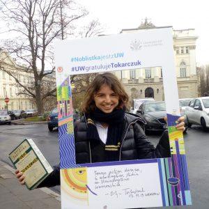 Julia Zalewska-Biziuk, Faculty of Political Science and International Studies