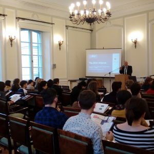 """""""Memory in Conflict"""" winter school at the University of Warsaw."""