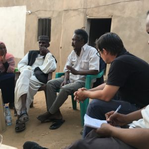 PCMA representatives took part in the meeting with a local community. Credit: PCMA.