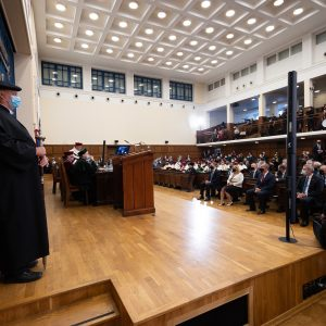 Inauguration of the academic year 2020/2021.