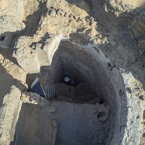Test trench in the apse, photo PCMA UW/Adrian Chlebowski