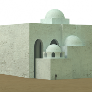 3D visualisation of the newly discovered complex, feat PCMA UW/Agnieszka Wujec